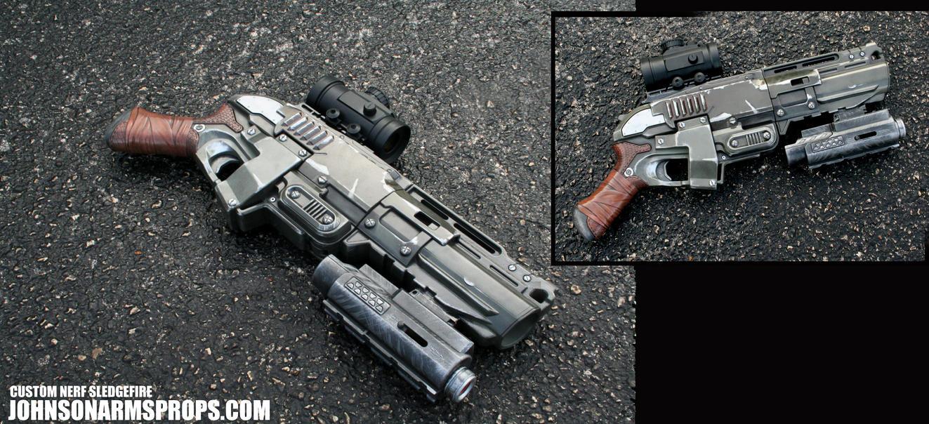 Zombie Hunter Shotgun By Johnsonarms On Deviantart