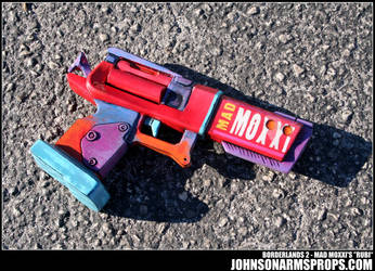 Borderlands 2 Mad Moxxi's Rubi Prop by JohnsonArmsProps