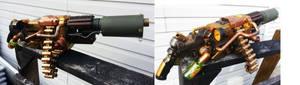 Steampunk Machine Gun Progress 2