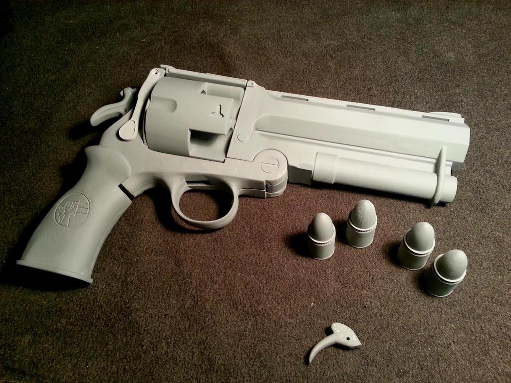 3D Printed and Prepped Good Samaritan replica by JohnsonArms