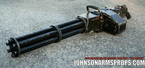 Gatling Gun Filming Prop - Motorized Barrel by JohnsonArmsProps
