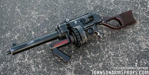 Diesel Punk Style Tommy Gun Prop 2 May 2014
