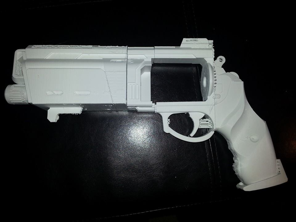 Destiny Duke 44 3D Print progress by JohnsonArms