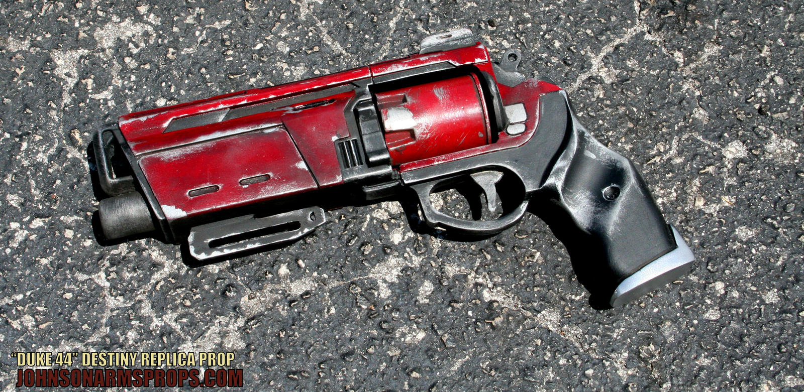 FINISHED Duke 44 Replica from the game Destiny by JohnsonArmsProps
