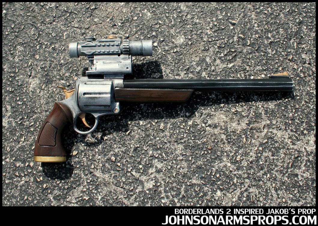 Borderlands 2 inspired Jakob's Revolver Prop by JohnsonArms