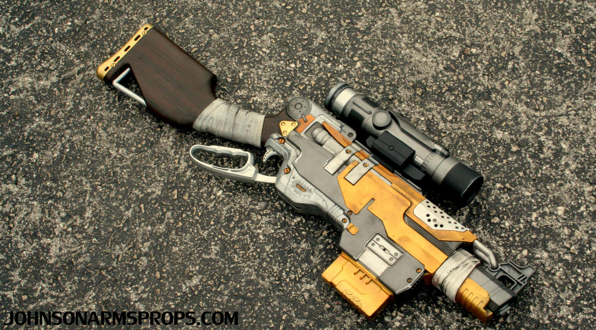 Custom Borderlands Themed Nerf Slingfire by JohnsonArmsProps ...
