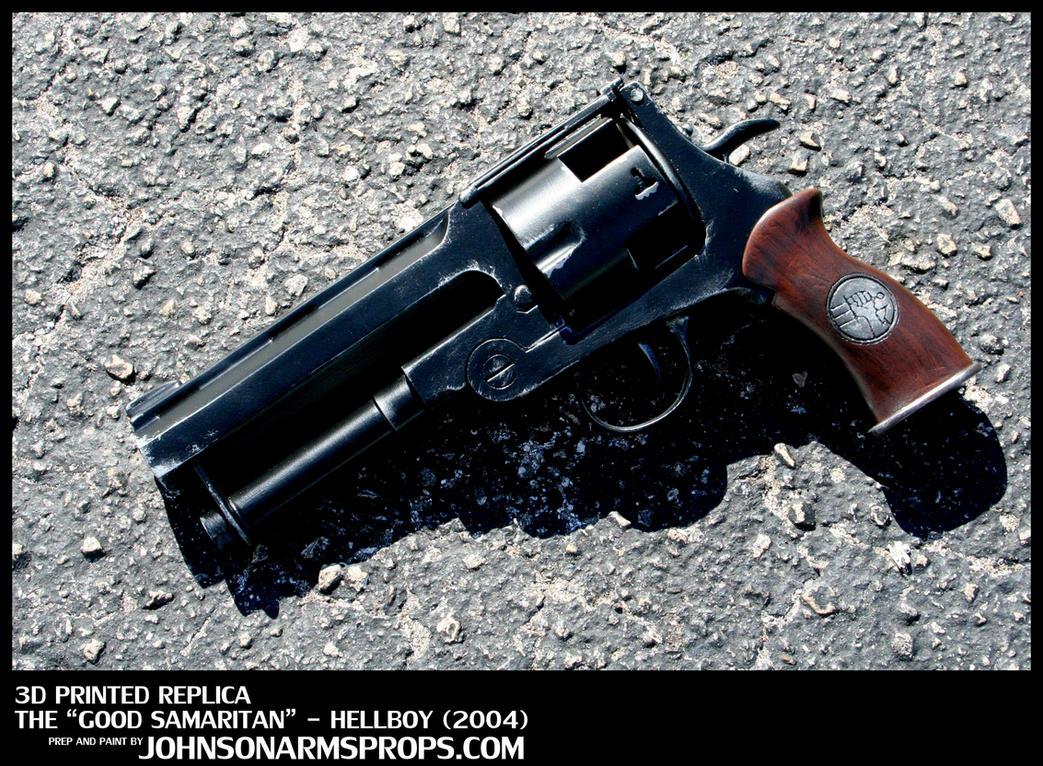 Custom Hellboy 'Good Samaritan' Replica Prop by JohnsonArms