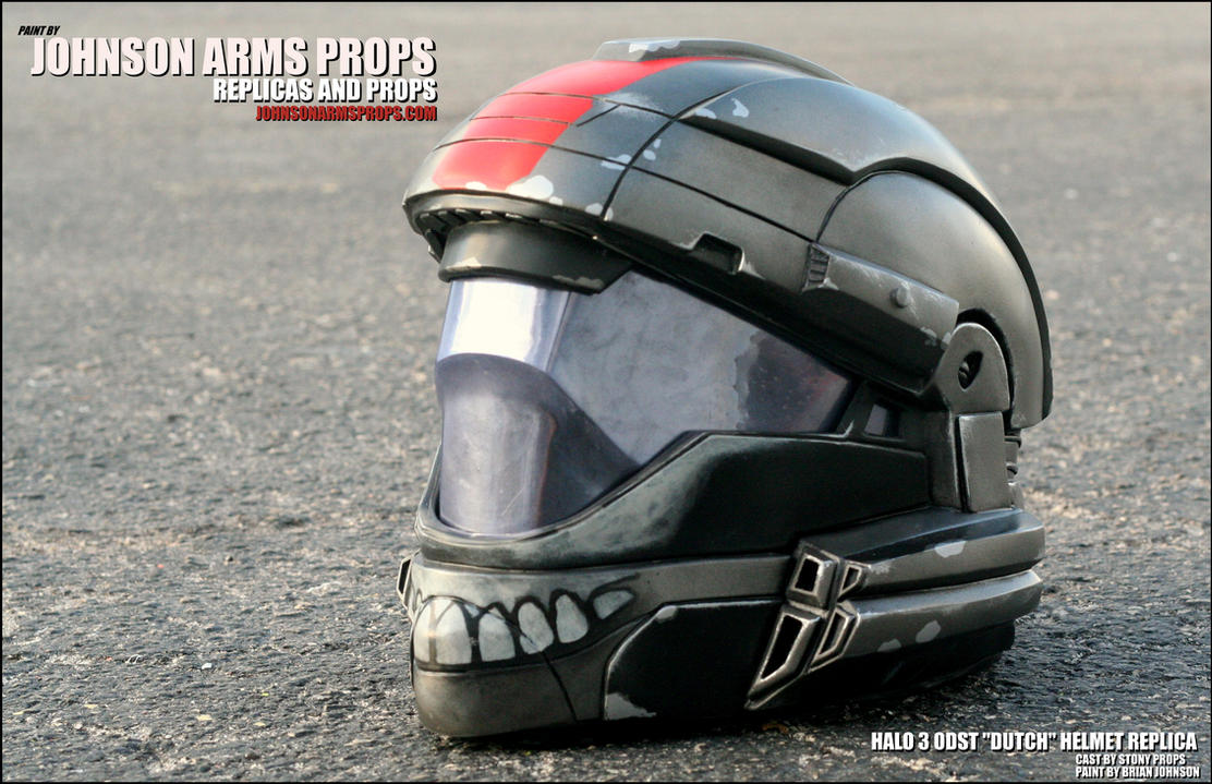 Custom DUTCH Halo ODST Helmet Replica by JohnsonArms on DeviantArt