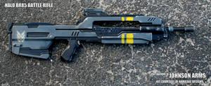 Halo BR85 Battle Rifle Replica