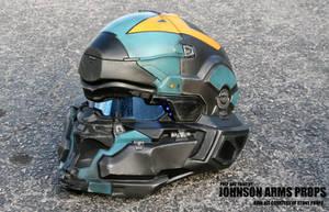 Halo 5 Agent Locke Wearable Helmet by JohnsonArmsProps