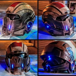 Mass Effect Breather Helmet Replica by JohnsonArmsProps