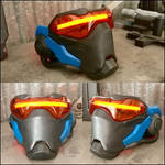 Soldier 76 Replica Mask with EL Lighting