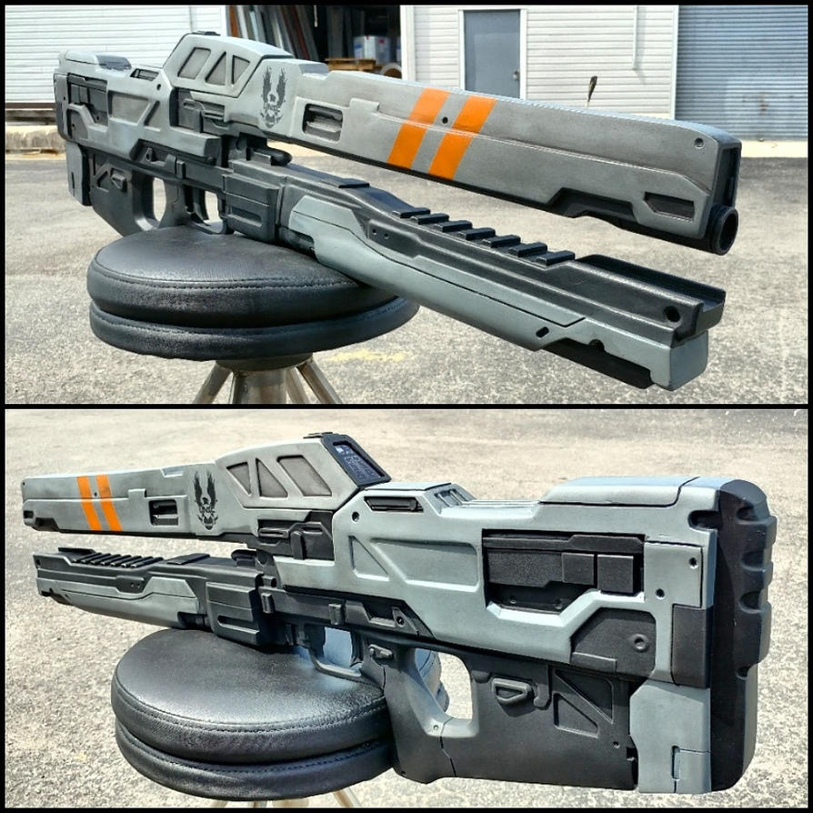 Halo Railgun Replica by JohnsonArmsProps