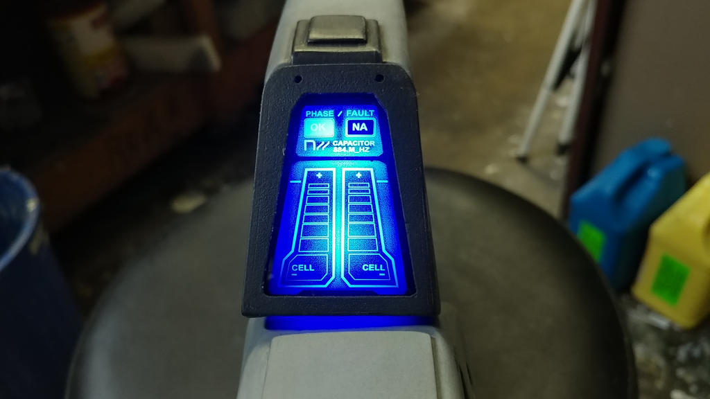 Halo Railgun Ammo Display by JohnsonArmsProps