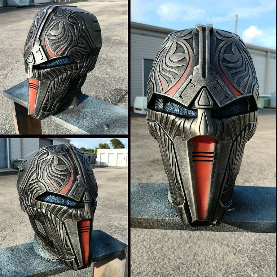 Sith Acolyte Mask Replica - RustySpratt Casting by JohnsonArmsProps