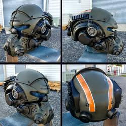 [Progress] TitanFall 2 Vanguard Helmet Replica