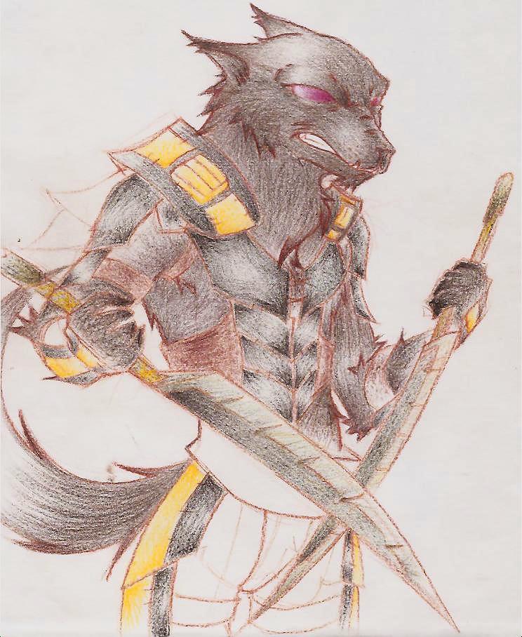 Warewolf Worgen Rogue Ninja By Drixie101 On DeviantArt