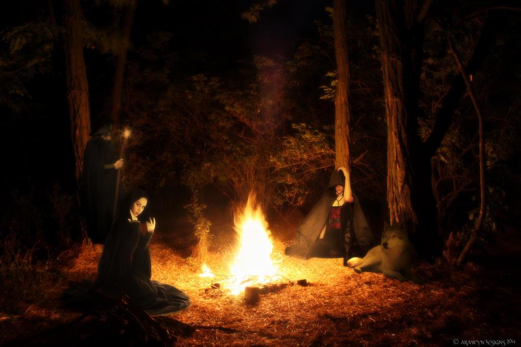 Gypsy camp by arawyndesigns