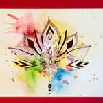 Lotus - tattoo design
