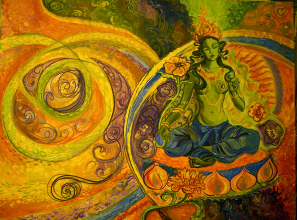 Green Tara by venessa1