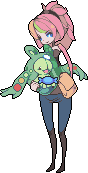 Pokemon trainer Eliza