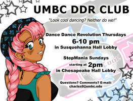 UMBC DDR Club Flyer