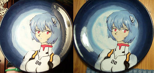 Fly Me to the Moon - Rei Plate by chocomanji