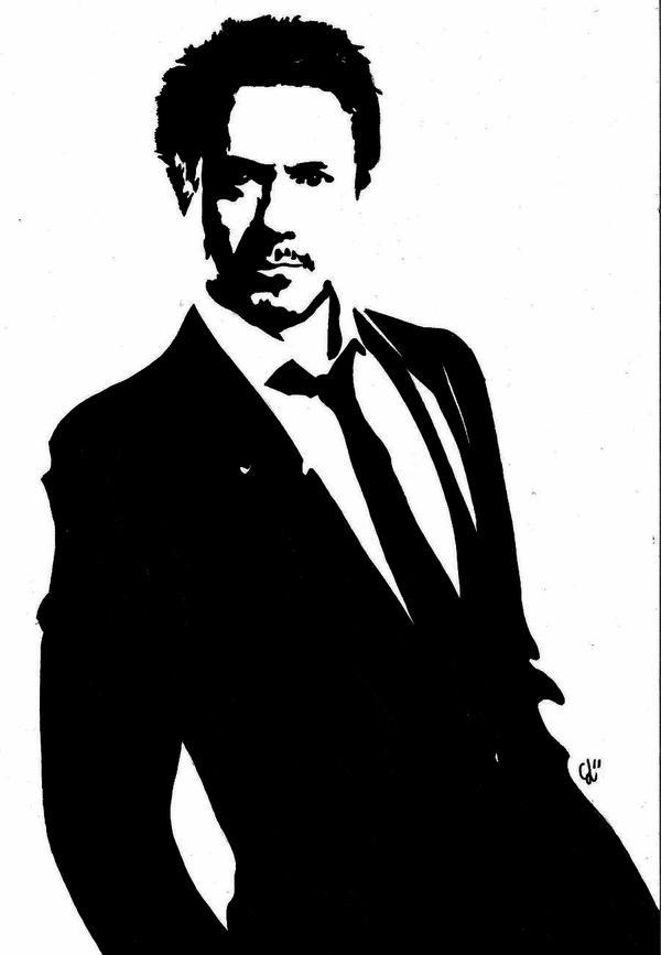 Robert Downey Jr. by NightMagican