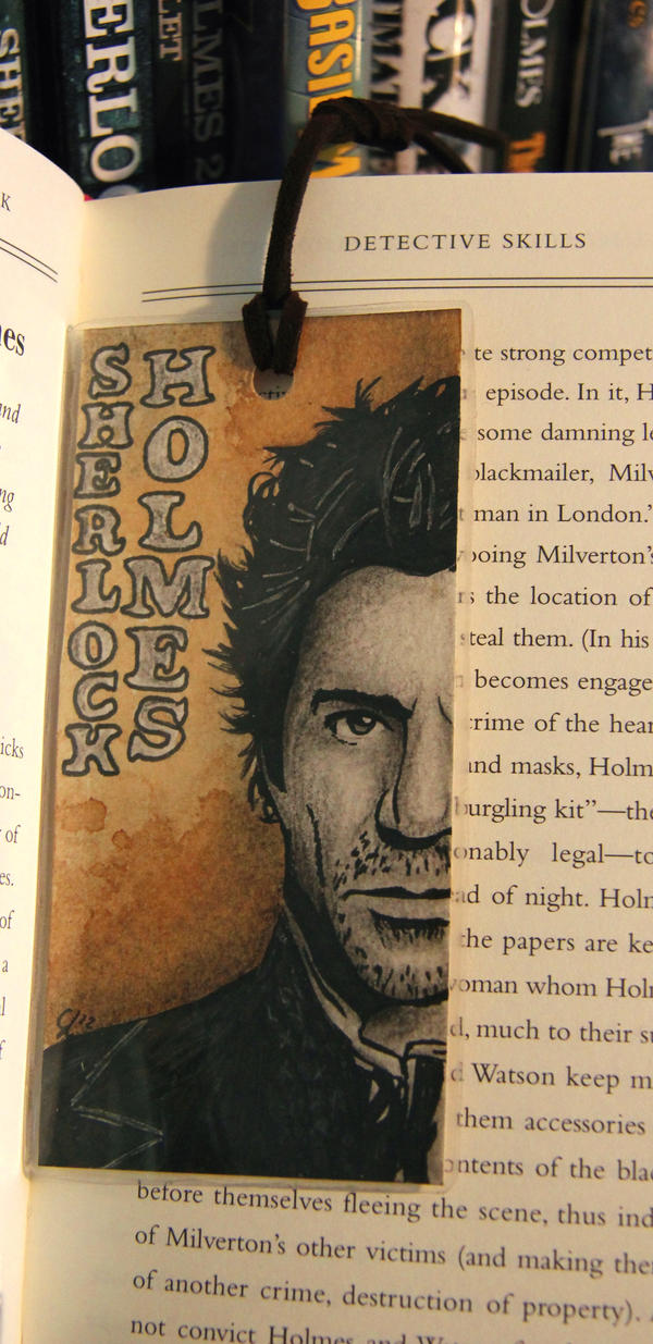 Sherlock Holmes Bookmark by NightMagican