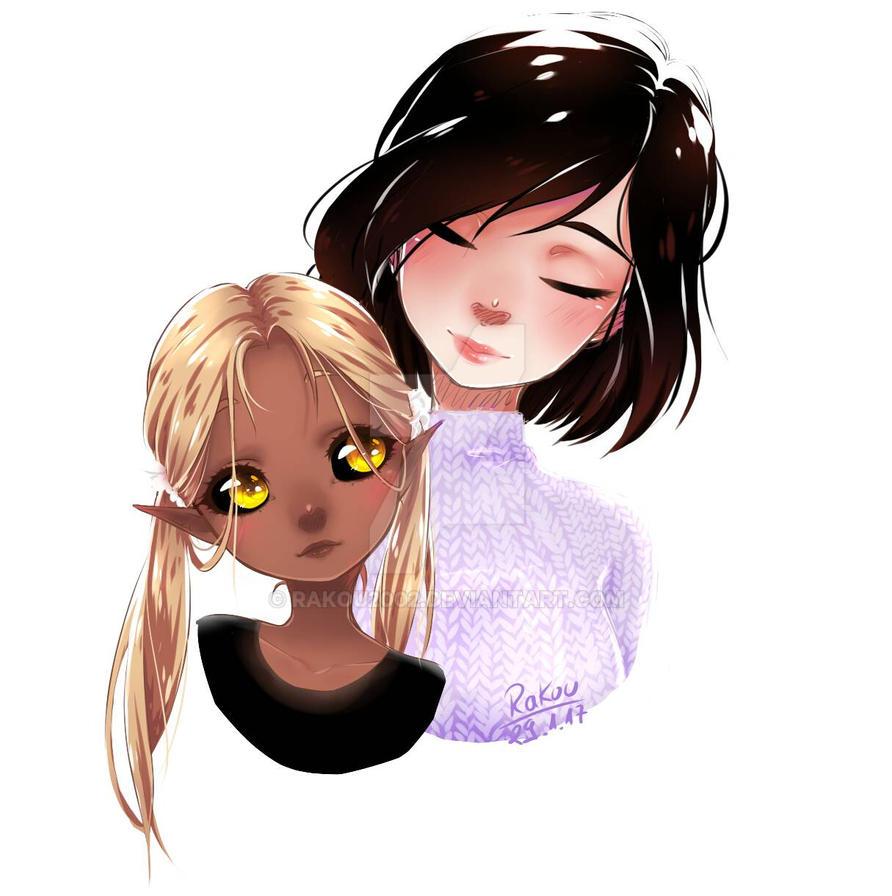 Yuki and Anna by RaKou2002