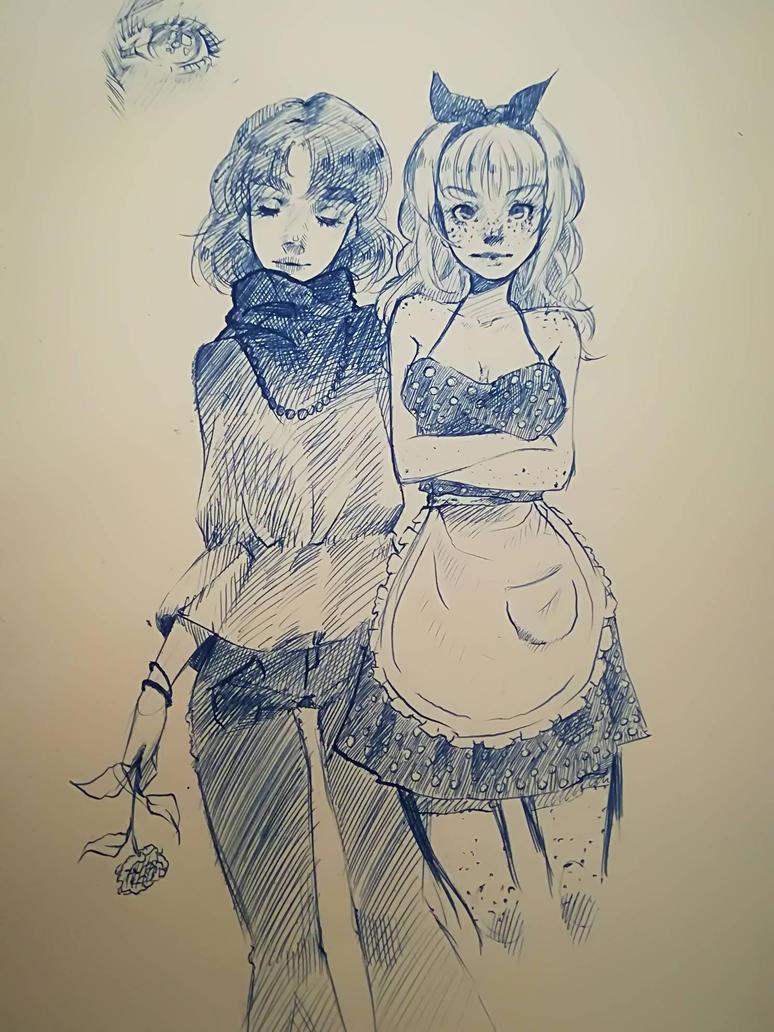 sketches by RaKou2002