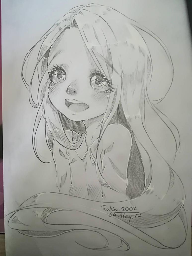 chibi Rapunzel by RaKou2002