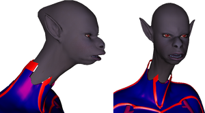 Ansaksie studio for 3d comics 4: Expression test by Puffolotti4iji