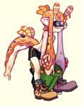 Sea slug by Kemikel