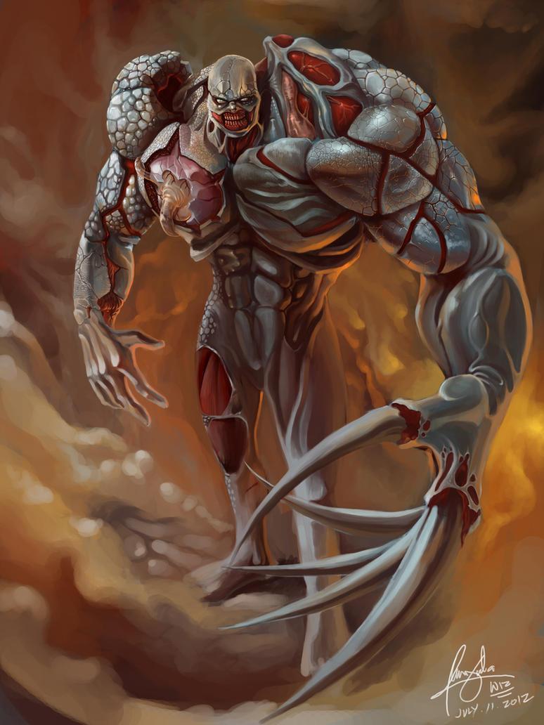 tyrant of resident evil by wizyakuza