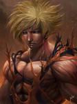 super saiyan Son Goku (dragon ball z)