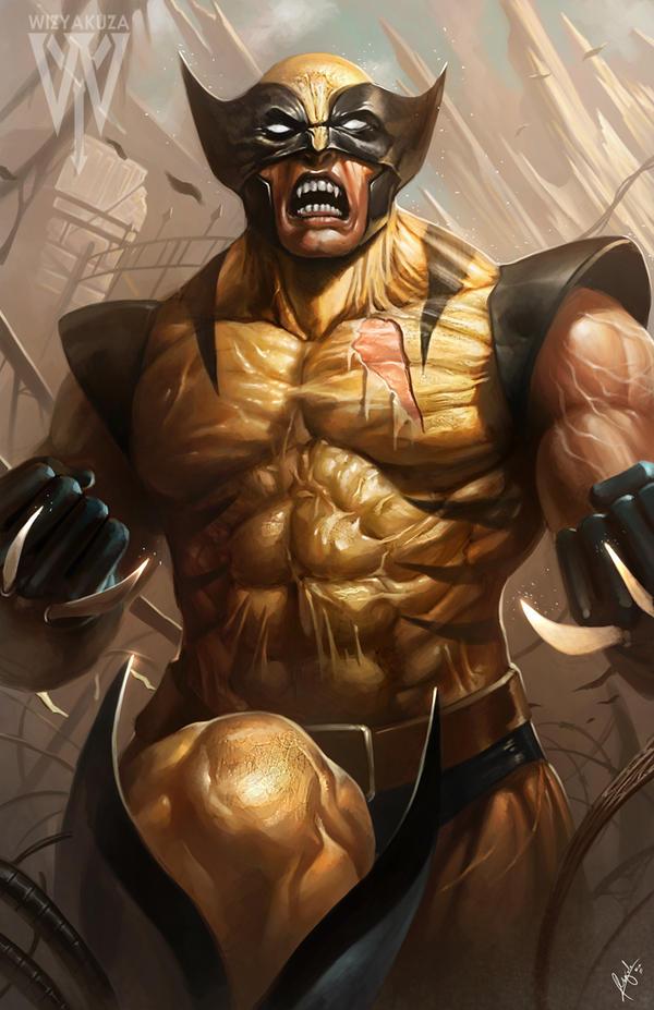 Wolverine by wizyakuza
