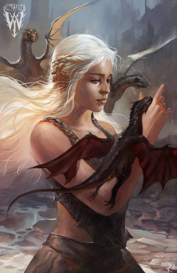 mother of dragon by wizyakuza
