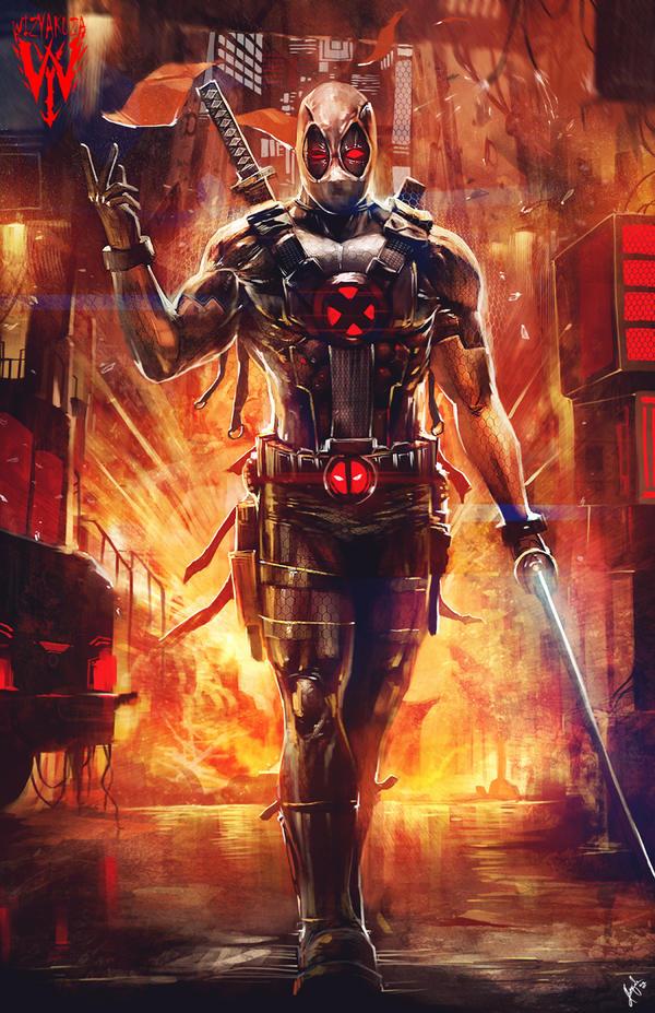 Deadpool 2 Characters Xforce