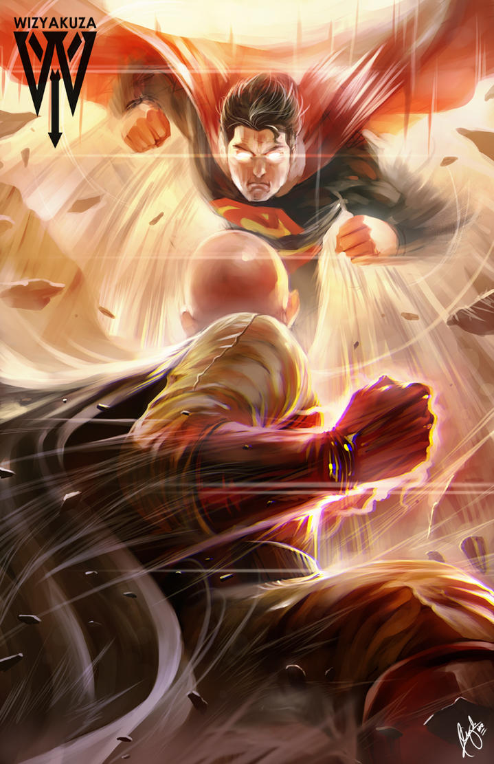 One Punch Man Saitama Vs Nyamuk Saitama(One punch man) vs Superman(DC new 52 ...