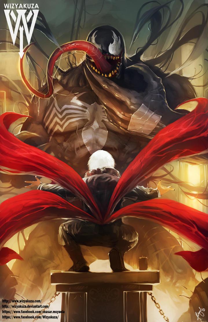 Venom kaneki by wizyakuza