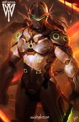genji overwatch by wizyakuza