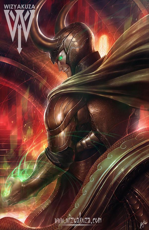 Loki by wizyakuza