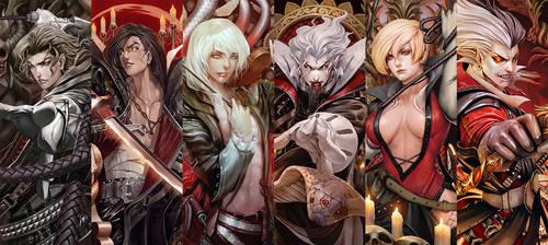 Ark Rebelion Bloodlust Chapter 1 - OC by wizyakuza