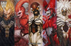symbiotes x dbz by wizyakuza