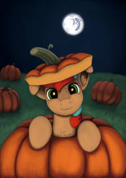 Pumpkin Pone by RedQuoz