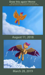 Draw This Again - Flying Free by RedQuoz
