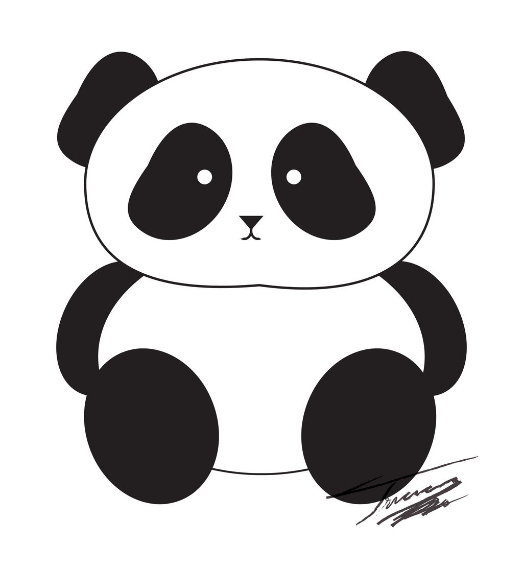 Panda Clip Art By Tasadatostadas On DeviantArt