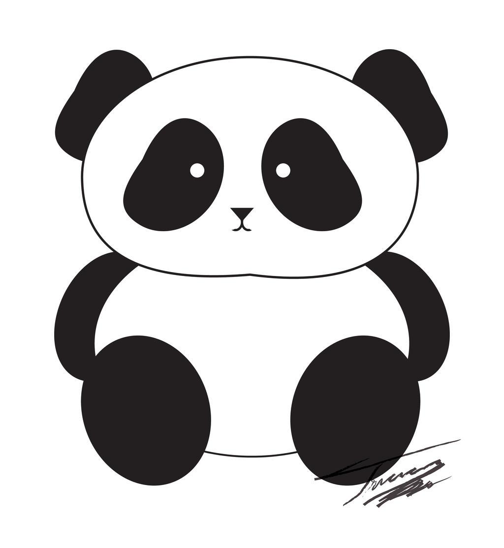 clipart panda female - photo #25
