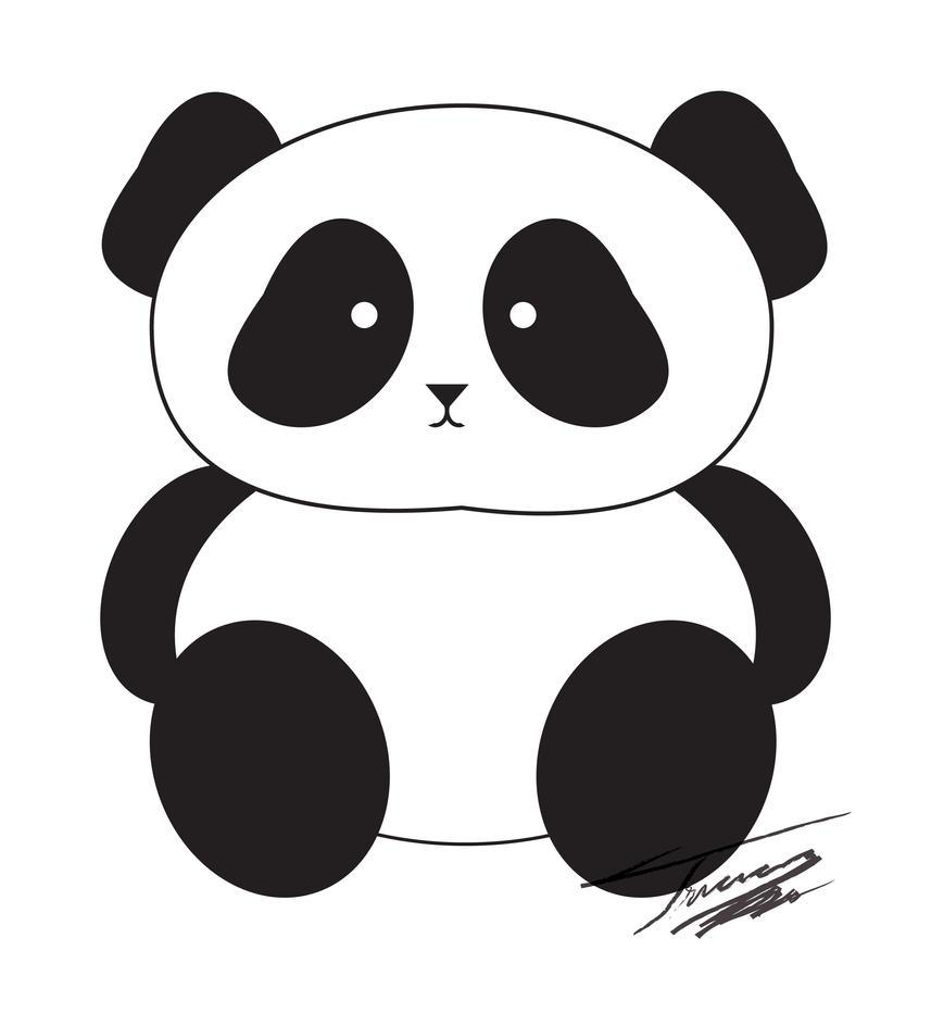 Panda Clip Art By Tasadatostadas